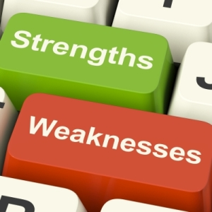 Could you list your team's strengths and weaknesses?